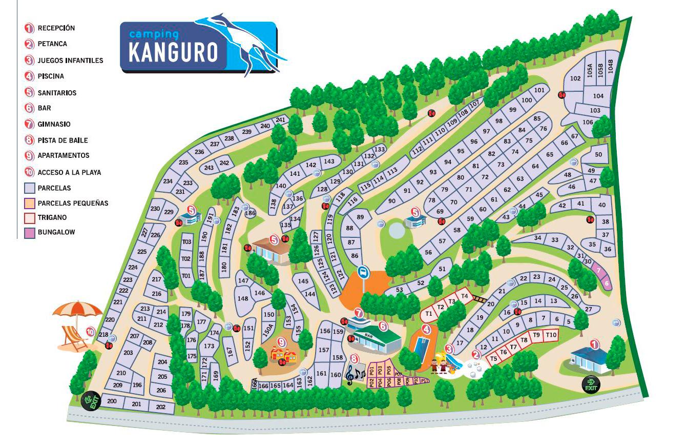 camping Kanguro